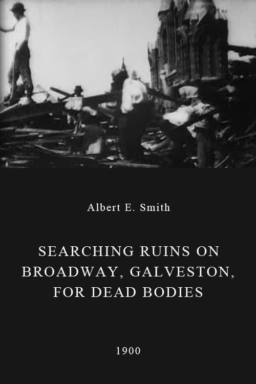 Searching Ruins on Broadway, Galveston, for Dead Bodies